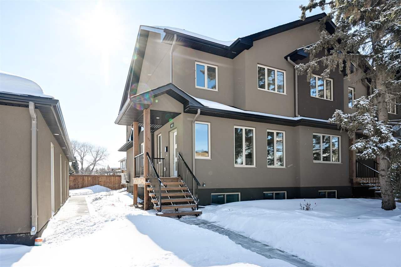 Main Photo: 14419 104 Avenue in Edmonton: Zone 21 Townhouse for sale : MLS®# E4188343