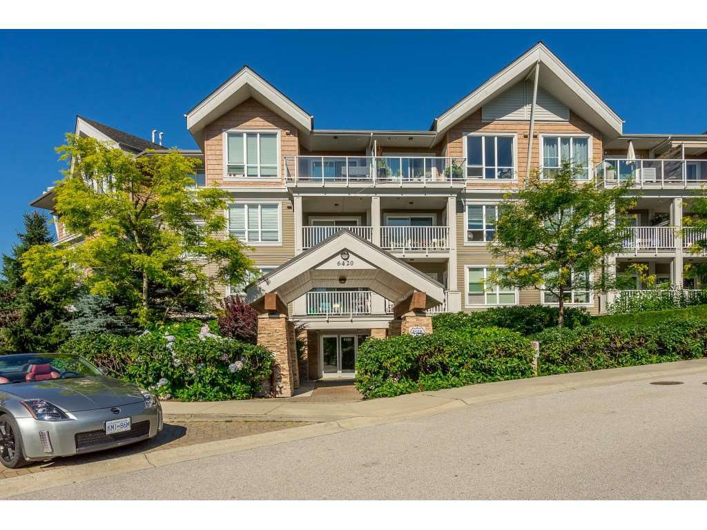 "Main Photo: 104 6420 194 Street in Surrey: Clayton Condo for sale in ""WATERSTONE"" (Cloverdale)  : MLS®# R2480446"