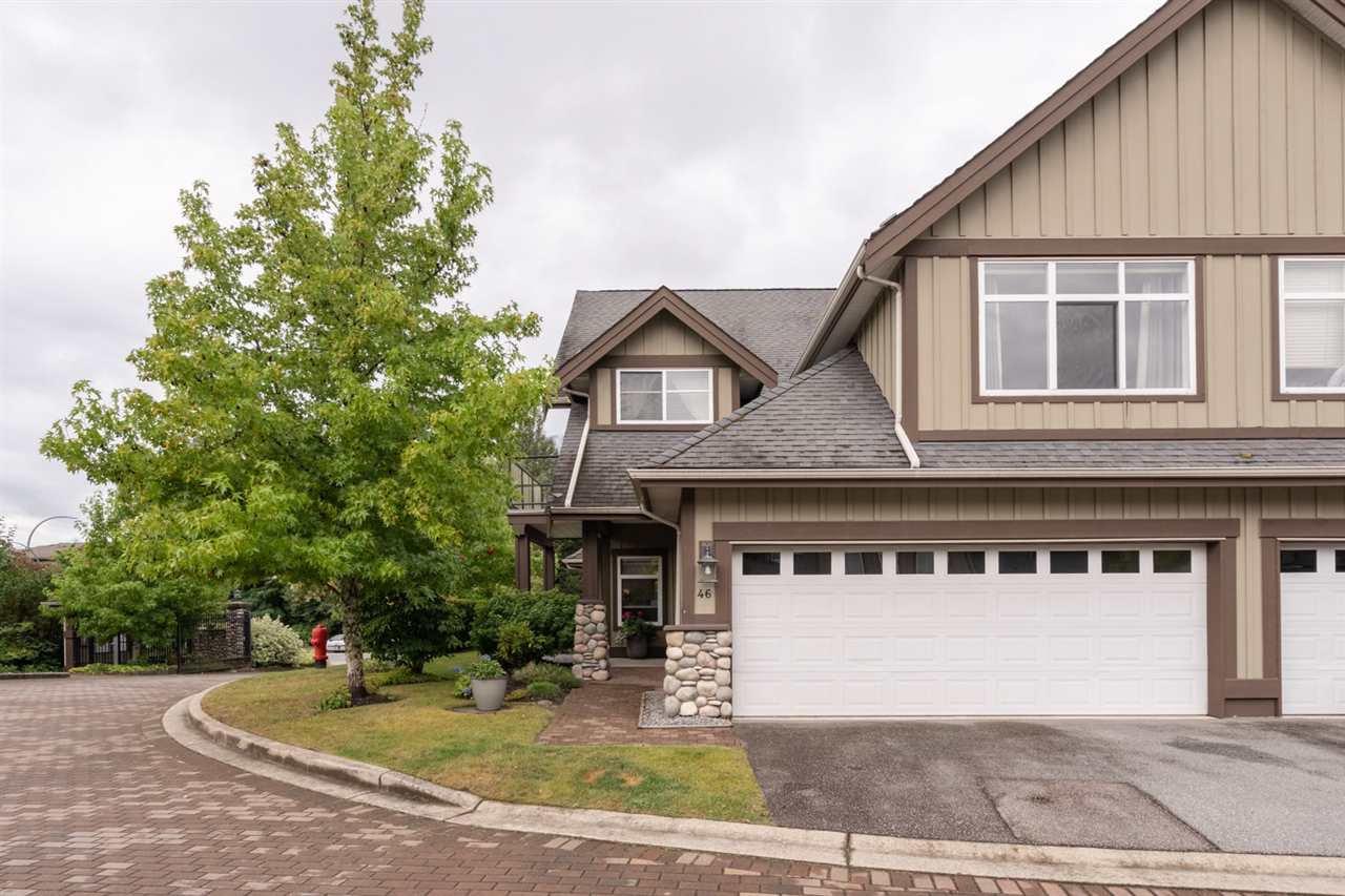 "Main Photo: 46 40750 TANTALUS Road in Squamish: Garibaldi Estates Townhouse for sale in ""Meighan Creek"" : MLS®# R2489735"