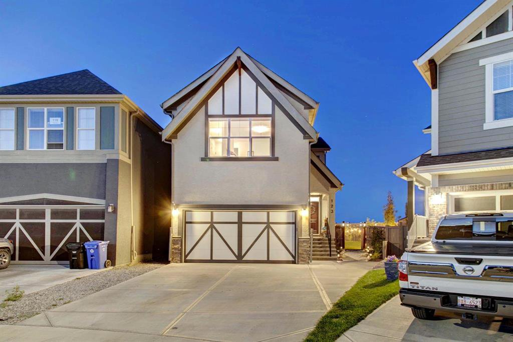 Main Photo: 123 Masters Heights SE in Calgary: Mahogany Detached for sale : MLS®# A1050411