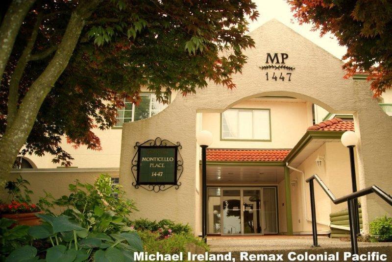 "Main Photo: 102 1447  BEST ST in White_Rock: White Rock Condo for sale in ""Monticello"" (South Surrey White Rock)  : MLS®# F1215485"