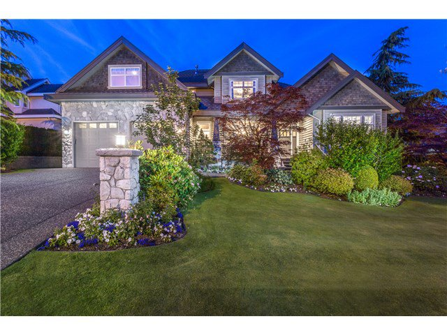 Photo 1: Photos: 1713 HAMPTON Drive in Coquitlam: Westwood Plateau House for sale : MLS®# V1131601