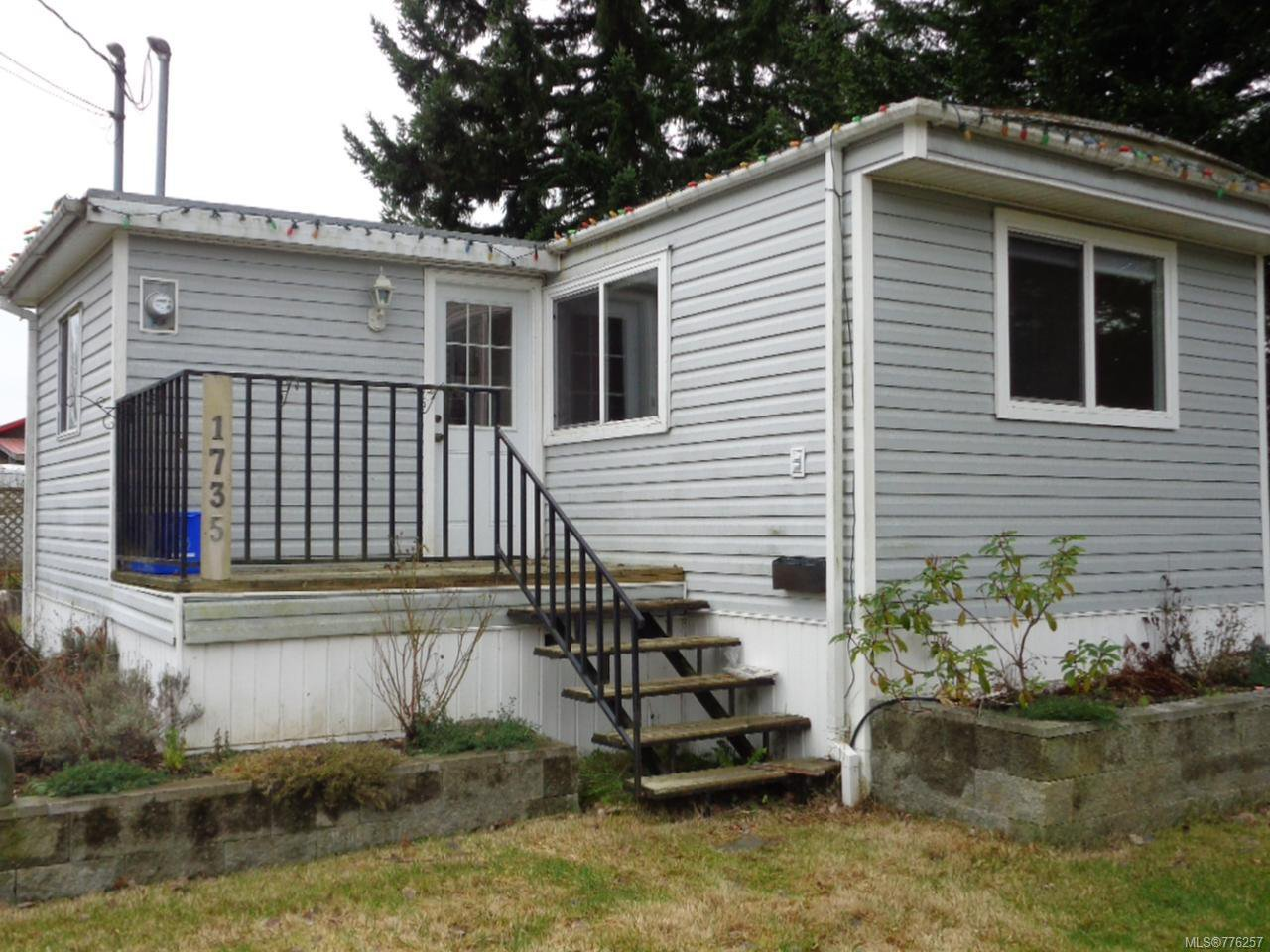 Main Photo: 1735 WILLIS ROAD in CAMPBELL RIVER: CR Campbell River West Manufactured Home for sale (Campbell River)  : MLS®# 776257
