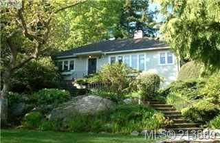 Main Photo: 29 Beach Drive in VICTORIA: OB Gonzales Single Family Detached for sale (Oak Bay)  : MLS®# 213889