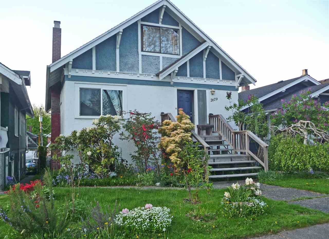 Main Photo: 2679 OXFORD Street in Vancouver: Hastings East House for sale (Vancouver East)  : MLS®# R2338345