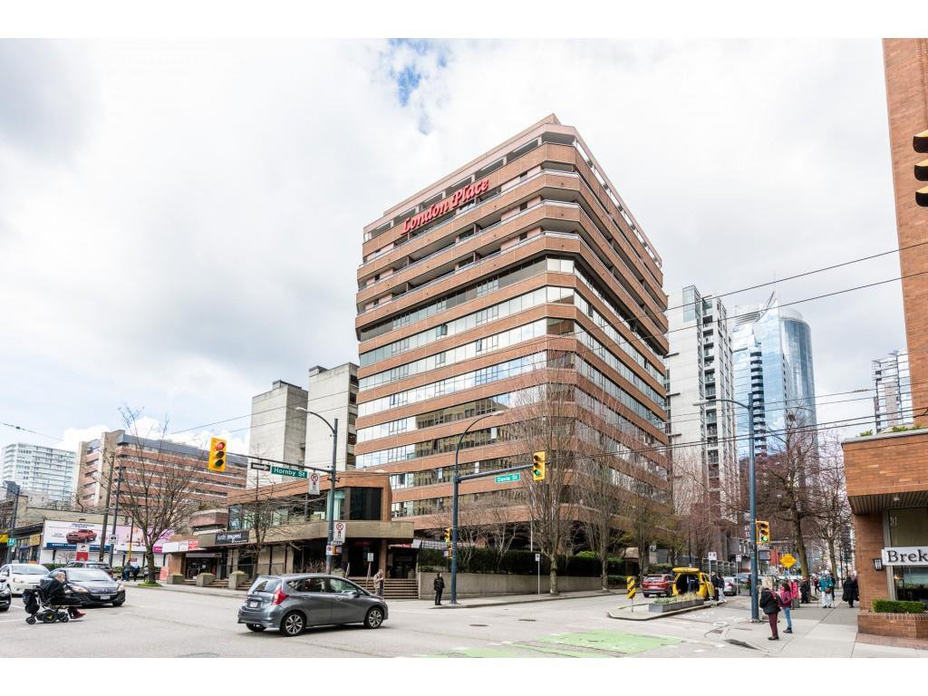 """Main Photo: 805 1177 HORNBY Street in Vancouver: Downtown VW Condo for sale in """"London Place"""" (Vancouver West)  : MLS®# R2352384"""