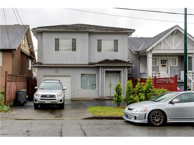 Main Photo: 272 61ST Ave E in Vancouver East: South Vancouver Home for sale ()  : MLS®# V1119950