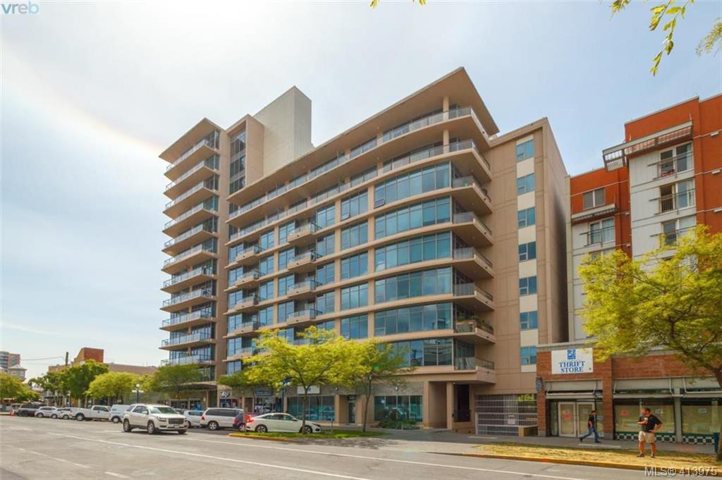 Main Photo: 403 845 Yates St in VICTORIA: Vi Downtown Condo Apartment for sale (Victoria)  : MLS®# 821060