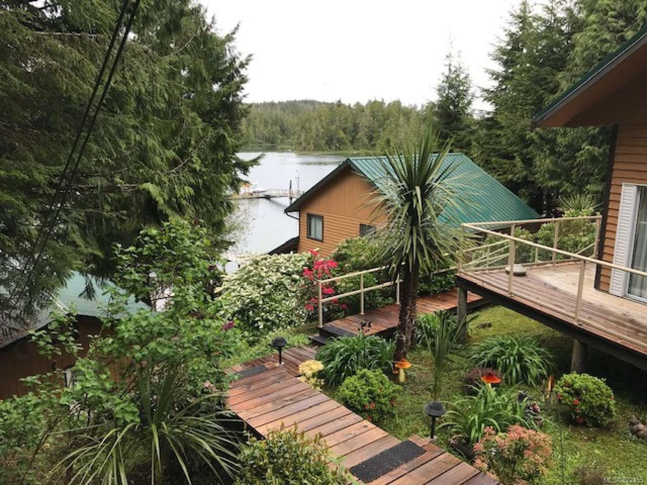 Main Photo: 34 South Bamfield Rd in BAMFIELD: PA Bamfield Business for sale (Port Alberni)  : MLS®# 822455