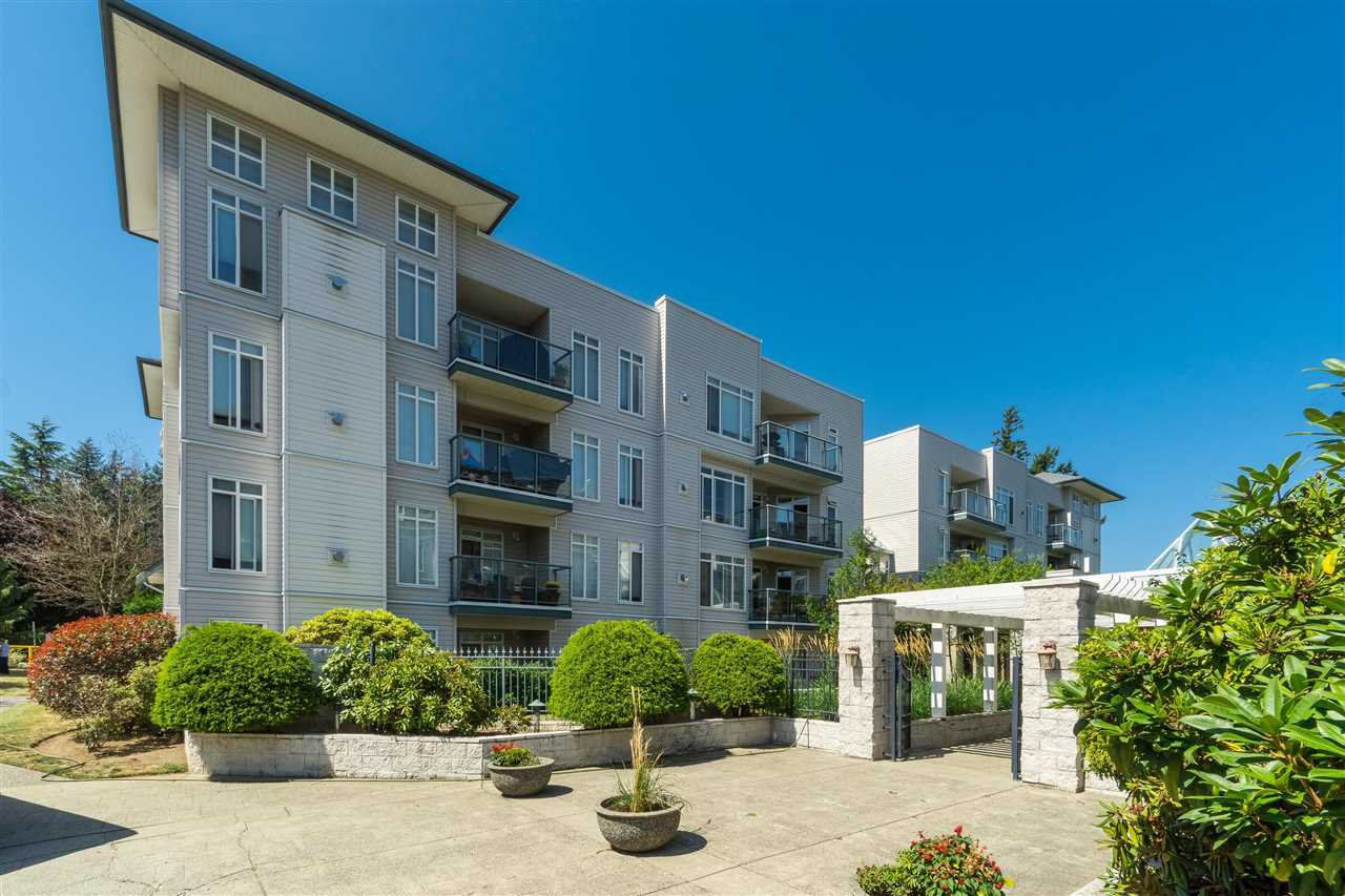 "Main Photo: 101 32075 GEORGE FERGUSON Way in Abbotsford: Abbotsford West Condo for sale in ""Arbour Court"" : MLS®# R2397173"