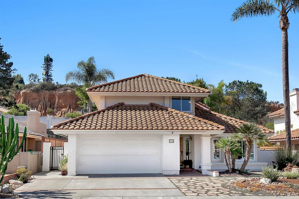 Main Photo: ENCINITAS House for sale : 4 bedrooms : 318 Via Andalusia