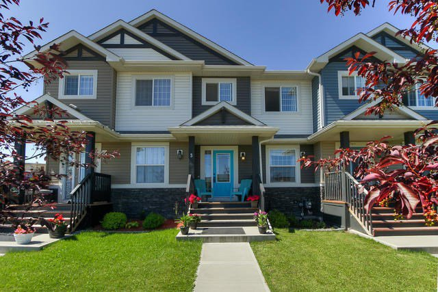Main Photo: 3 HARVEST RIDGE Drive: Spruce Grove Attached Home for sale : MLS®# E4208163