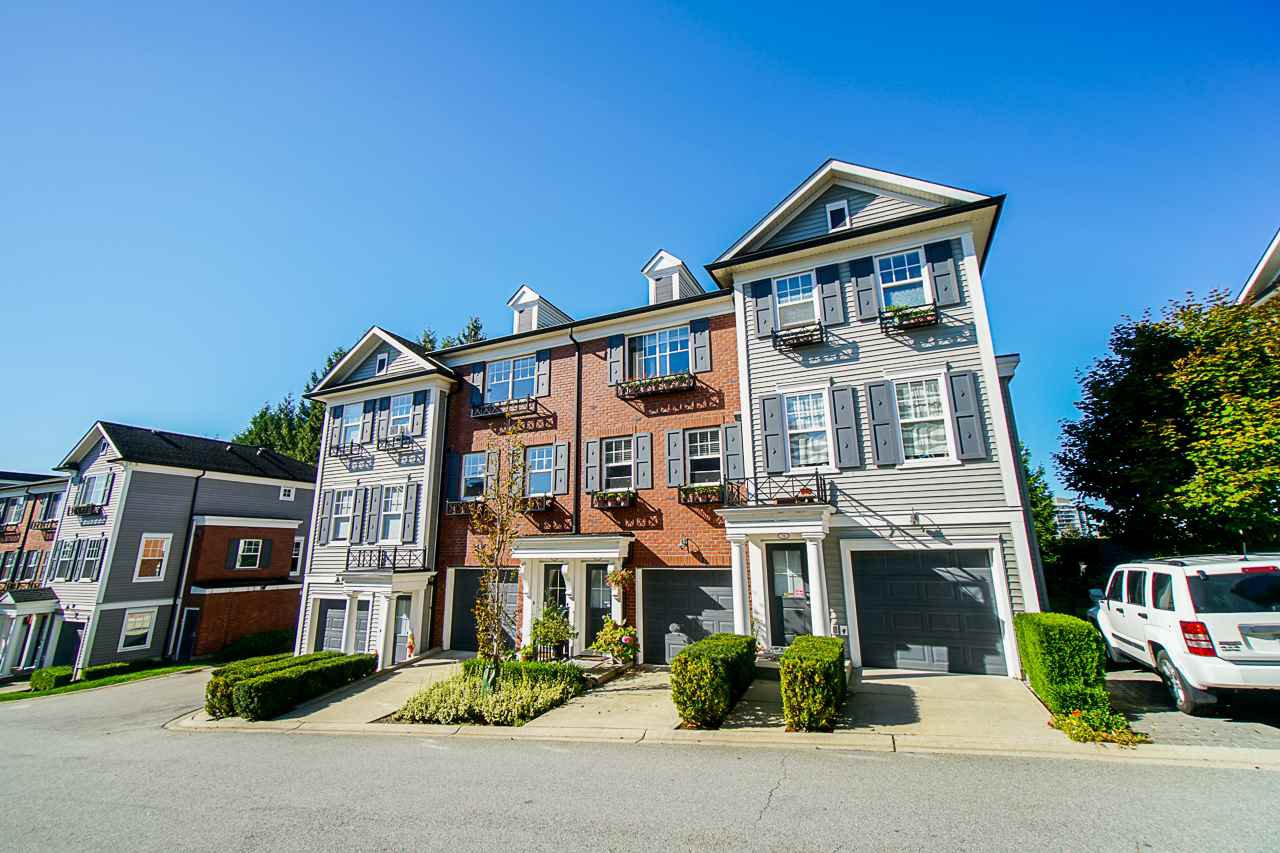 Main Photo: 78 688 EDGAR Avenue in Coquitlam: Coquitlam West Townhouse for sale : MLS®# R2506046