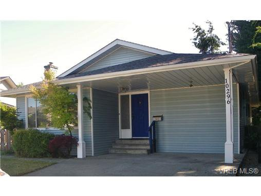 Main Photo: 10296 Gabriola Place in SIDNEY: Si Sidney North-East Single Family Detached for sale (Sidney)  : MLS®# 346422