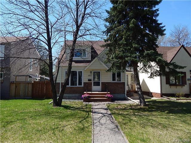 Main Photo: 483 Waverley Street in Winnipeg: River Heights Residential for sale (1C)  : MLS®# 1711108