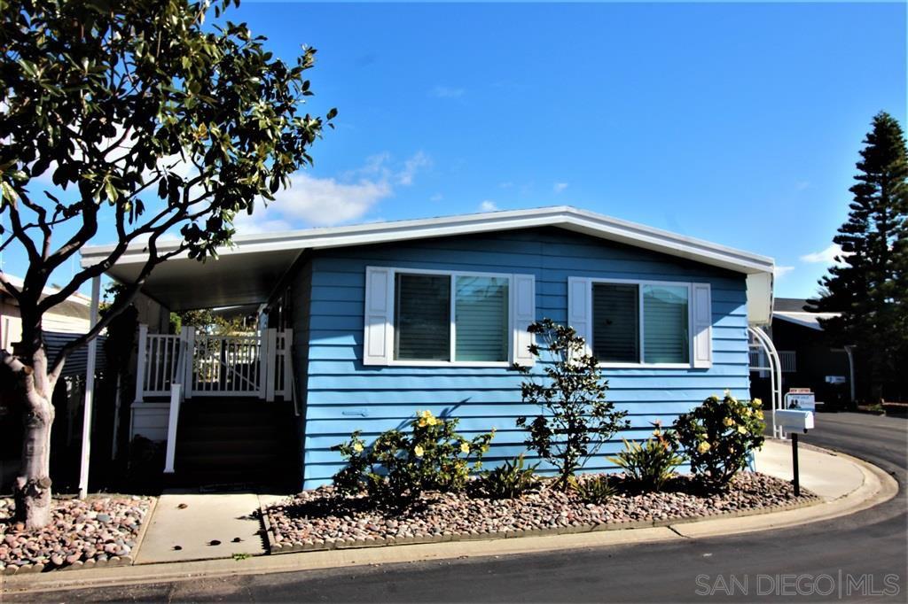 Main Photo: CARLSBAD WEST Mobile Home for sale : 2 bedrooms : 7112 Santa Cruz #53 in Carlsbad