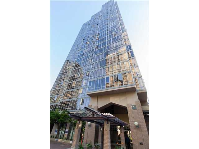Main Photo: # 1707 950 CAMBIE ST in Vancouver: Yaletown Condo for sale (Vancouver West)  : MLS®# V1007970