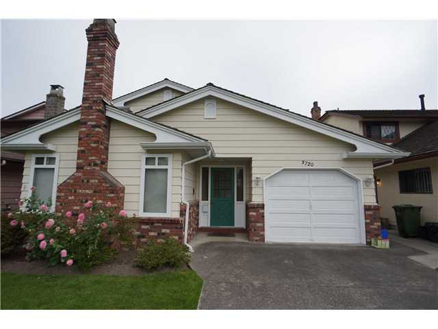 Main Photo: 3720 BAMFIELD Drive in Richmond: East Cambie House for sale : MLS®# V1089978