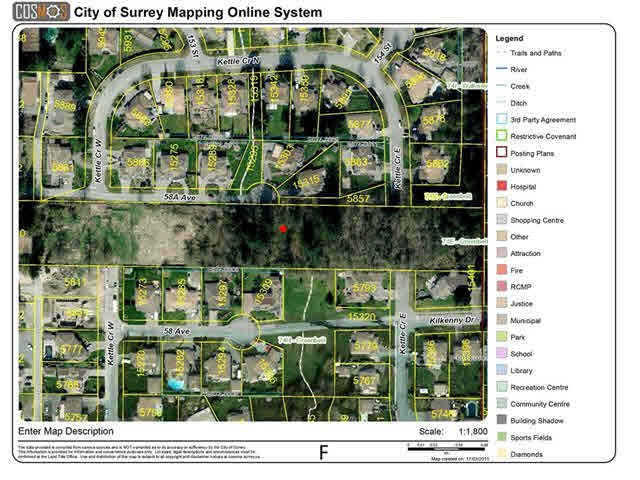 "Main Photo: 5810 152ND Street in Surrey: Sullivan Station Land for sale in ""SULLIVAN STATION"" : MLS®# F1437339"