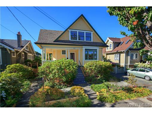 Main Photo: 1321 George St in VICTORIA: Vi Fairfield West Single Family Detached for sale (Victoria)  : MLS®# 719786
