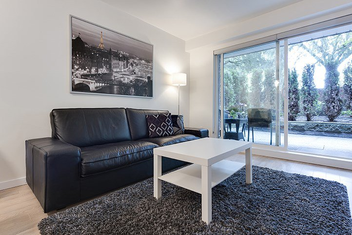 """Main Photo: 101 3353 HEATHER Street in Vancouver: Cambie Condo for sale in """"HEATHER COURT"""" (Vancouver West)  : MLS®# R2090748"""