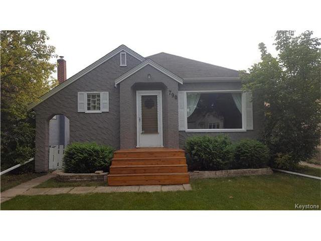 Main Photo: 790 Cathedral Avenue in Winnipeg: Sinclair Park Residential for sale (4C)  : MLS®# 1710911
