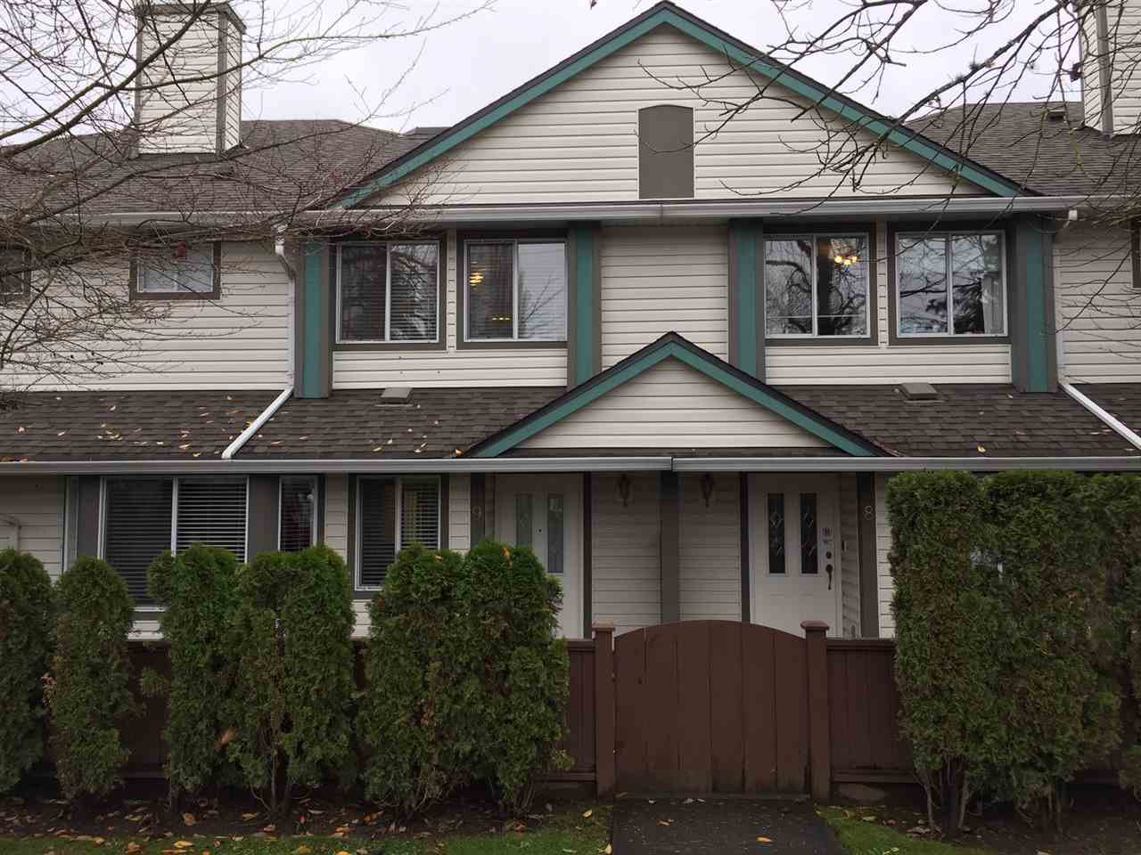 Main Photo: 29 11950 232 Street in Maple Ridge: Cottonwood MR Townhouse for sale : MLS®# R2224824