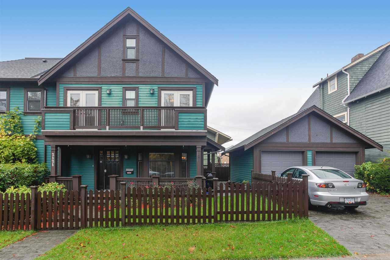 Main Photo: 2121 E PENDER STREET in Vancouver: Hastings House 1/2 Duplex for sale (Vancouver East)  : MLS®# R2218600