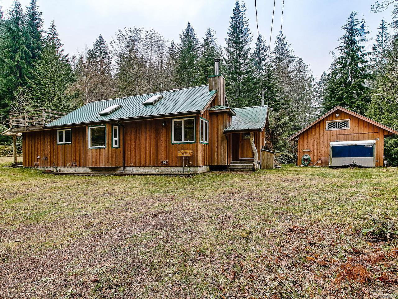 Main Photo: 415 WHALETOWN ROAD in CORTES ISLAND: Isl Cortes Island House for sale (Islands)  : MLS®# 783460