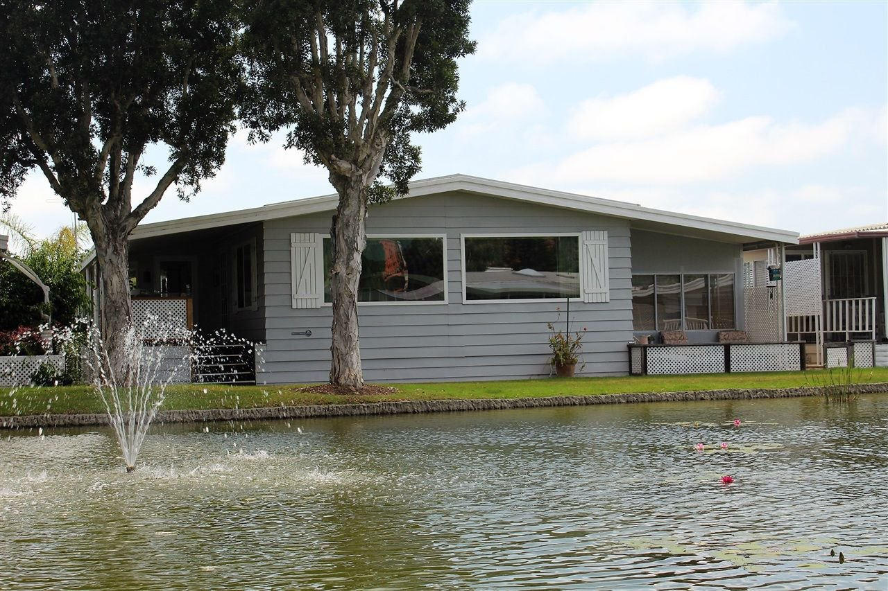 Main Photo: CARLSBAD WEST Manufactured Home for sale : 2 bedrooms : 7114 Santa Barbara St #94 in Carlsbad