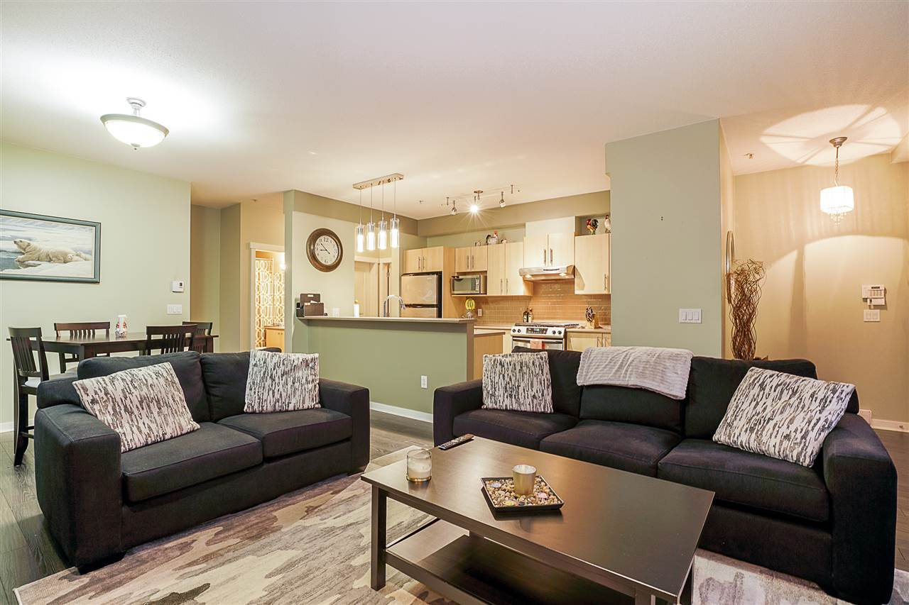 """Main Photo: 100 9229 UNIVERSITY Crescent in Burnaby: Simon Fraser Univer. Townhouse for sale in """"SERENITY"""" (Burnaby North)  : MLS®# R2329232"""