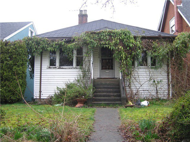 Main Photo: 159 W. 21st Ave in Vancouver: Cambie Home for sale ()  : MLS®# V996219