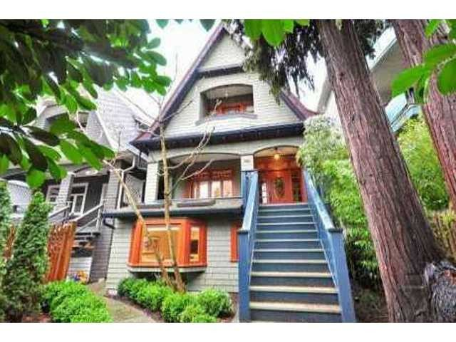 "Main Photo: 2168 YORK Avenue in Vancouver: Kitsilano House for sale in ""KITSILANO"" (Vancouver West)  : MLS®# V920425"