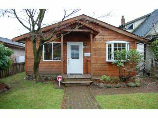 Main Photo: 339 W 22ND Street in North Vancouver: Central Lonsdale House for sale : MLS®# V988697