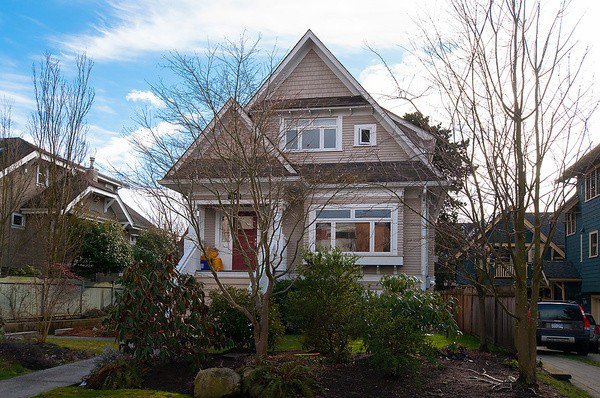 Main Photo: 2316 W 5TH Avenue in Vancouver: Kitsilano House 1/2 Duplex for sale (Vancouver West)  : MLS®# V1058971