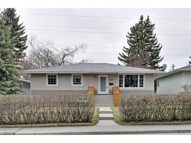 Main Photo: 419 49 Avenue SW in Calgary: Elboya House for sale : MLS®# C4008059