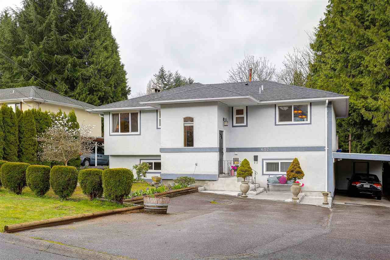 Main Photo: 617 TYNDALL Street in Coquitlam: Coquitlam West House for sale : MLS®# R2046457