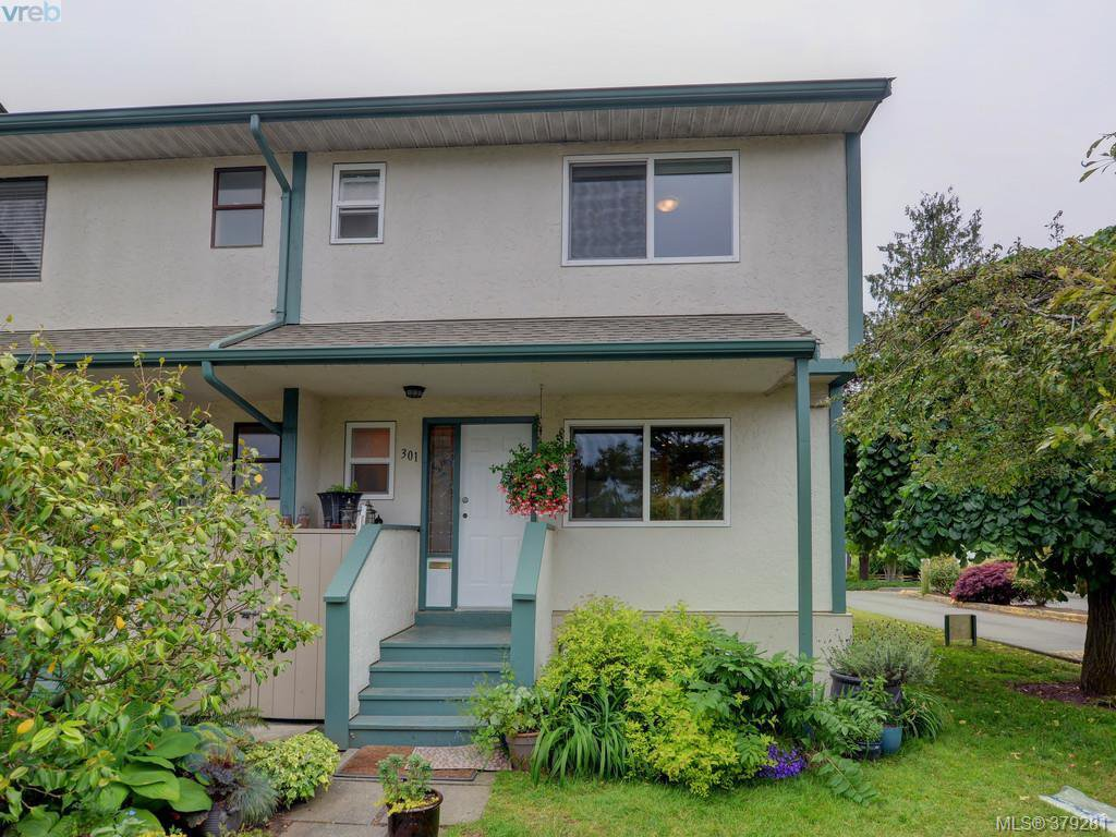 Main Photo: 301 642 Agnes Street in VICTORIA: SW Glanford Townhouse for sale (Saanich West)  : MLS®# 379281