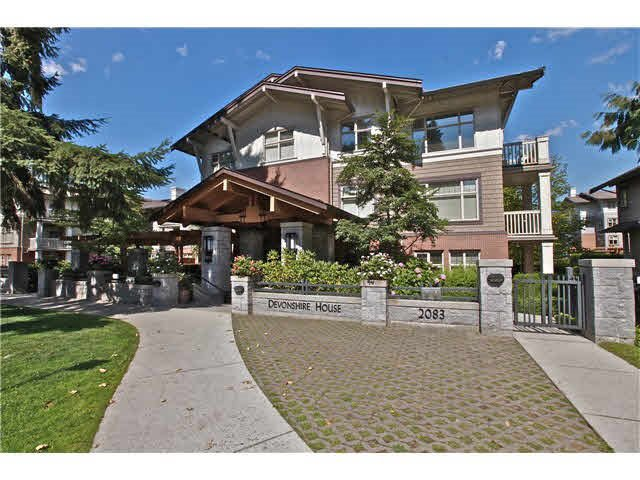 Main Photo: #316 - 2083 W 33RD AV in VANCOUVER: Quilchena Condo for sale (Vancouver West)  : MLS®# R2154720