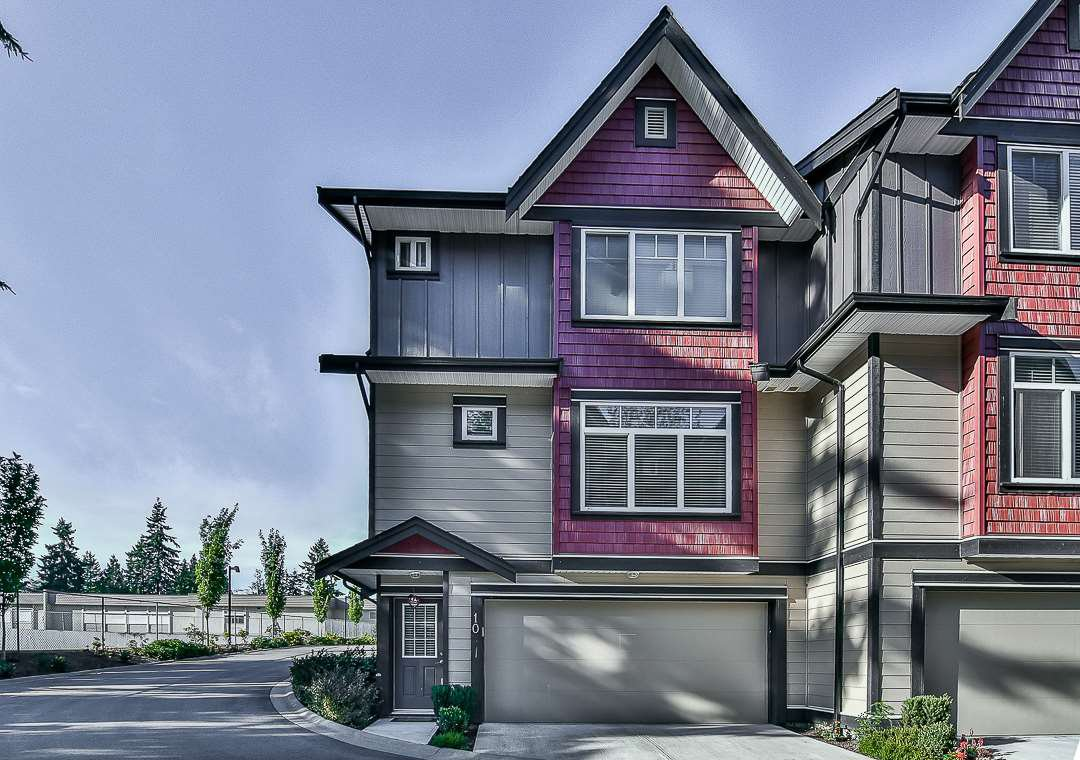 "Main Photo: 10 6929 142 Street in Surrey: East Newton Townhouse for sale in ""East Newton"" : MLS®# R2206019"