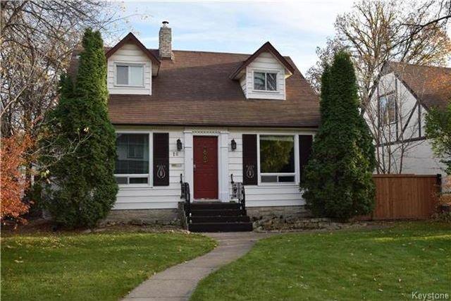 Main Photo: 16 Elm Park Road in Winnipeg: Elm Park Residential for sale (2C)  : MLS®# 1727338