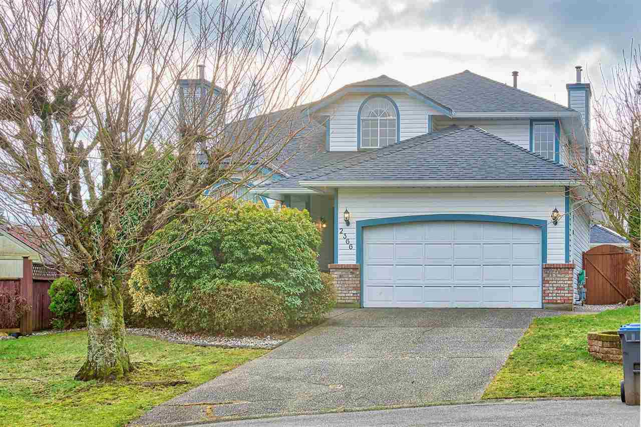Main Photo: 2366 NOTTINGHAM Place in Port Coquitlam: Citadel PQ House for sale : MLS®# R2336226