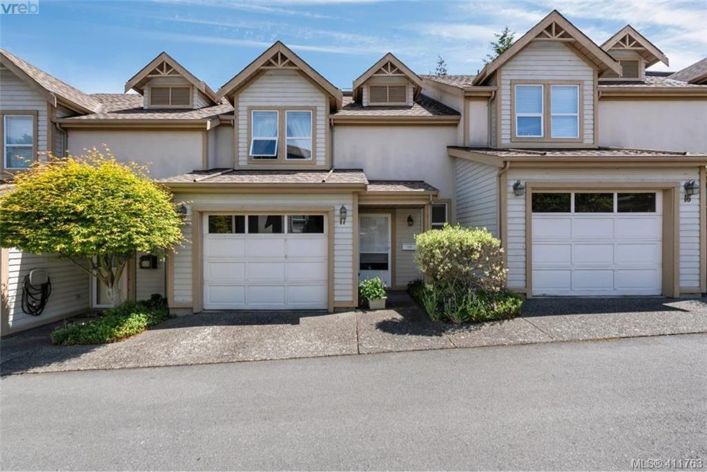 Main Photo: 17 3947 Cedar Hill Cross Road in VICTORIA: SE Cedar Hill Row/Townhouse for sale (Saanich East)  : MLS®# 411763
