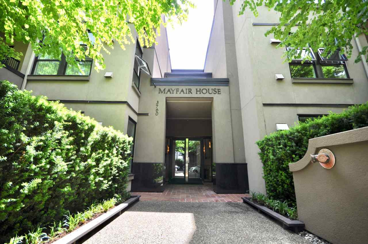 """Main Photo: 208 3760 W 6TH Avenue in Vancouver: Point Grey Condo for sale in """"MAYFAIR HOUSE"""" (Vancouver West)  : MLS®# R2377036"""