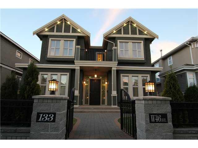 Main Photo: 133 W 46TH AVENUE in : Oakridge VW House for sale : MLS®# V973431