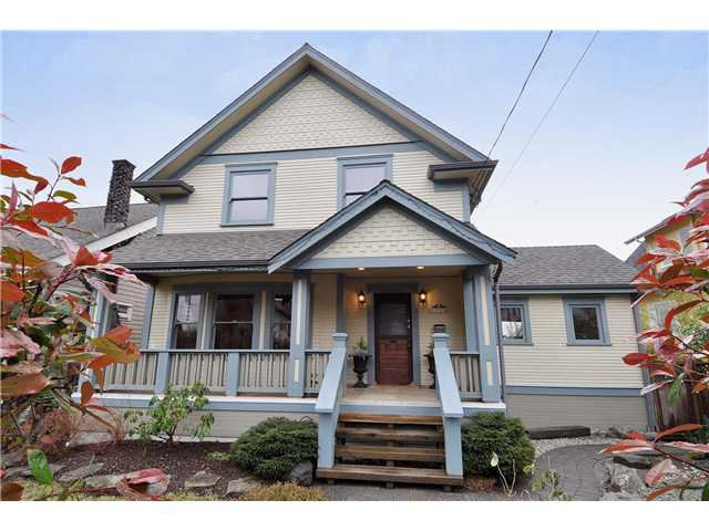 Main Photo: 1114 DUBLIN Street in New Westminster: Moody Park House for sale : MLS®# V988995