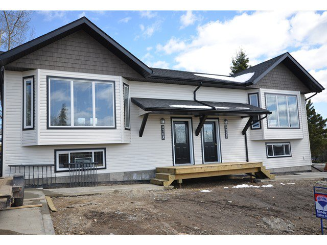 Main Photo: 9705 94TH Street in Fort St. John: Fort St. John - City SE House 1/2 Duplex for sale (Fort St. John (Zone 60))  : MLS®# N244732
