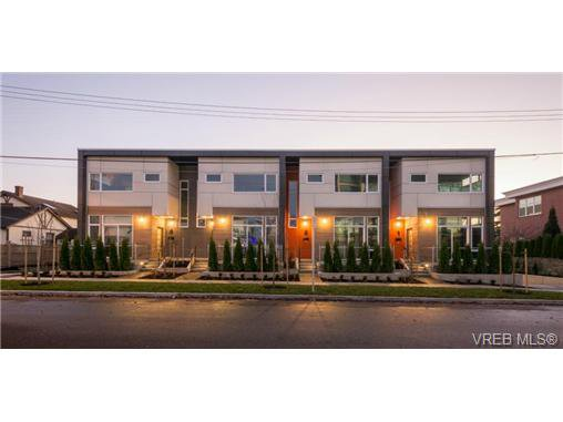 Main Photo: 7 21 Ontario Street in VICTORIA: Vi James Bay Townhouse for sale (Victoria)  : MLS®# 360816