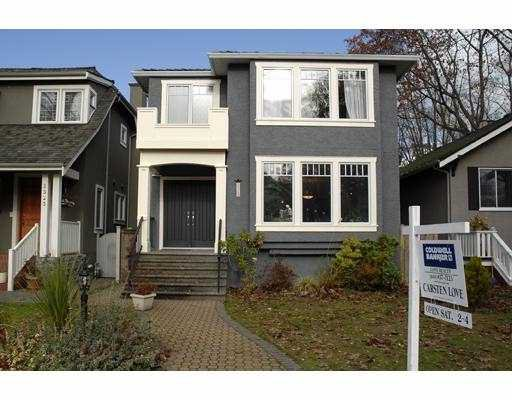 Main Photo: 3313 W 27TH Ave in Vancouver: Dunbar House for sale (Vancouver West)  : MLS®# V620038