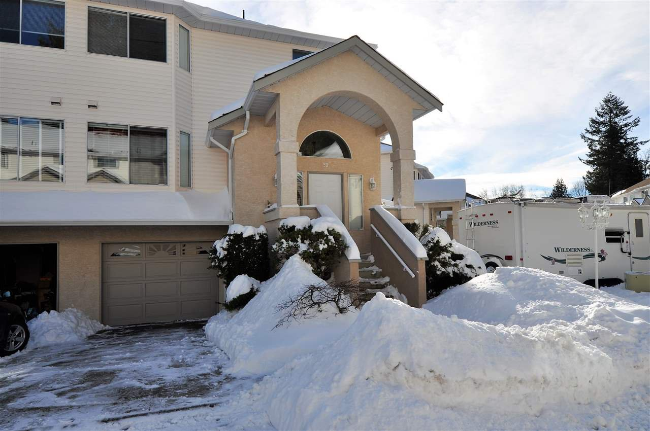 """Main Photo: 59 32339 7TH Avenue in Mission: Mission BC Townhouse for sale in """"Cedarbrooke Estates"""" : MLS®# R2137705"""